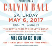 Please join us for a day of food & family fun in the community with Councilman Calvin Ball